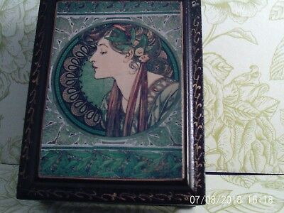 antique/vintage russian laquer box