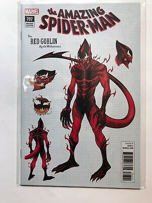 Amazing Spider-Man #797 Mcguinness Variant Nm