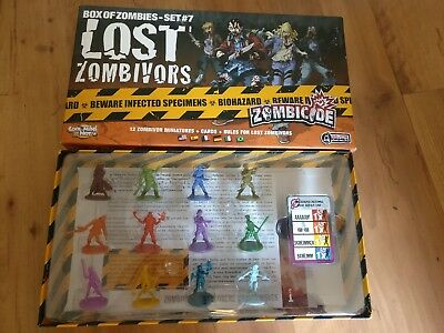 Zombicide Erweiterung Box of Zombies Set # 7 Lost Zombivors Nr. 7