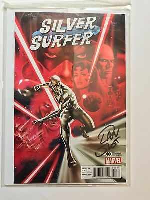 MARVEL - Silver Surfer #3 1:25 Variant by Steve Epting NM SIGNED BY DAN SLOTT