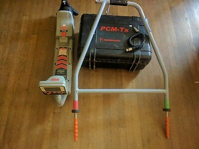 Radiodetection RD  PCM Underground Utility Coating fault and Pipe Locator