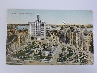 AK New York Civic Center 1915 (Nr. 265)