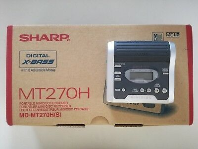 SHARP Minidisc Player MT270H - NEU !