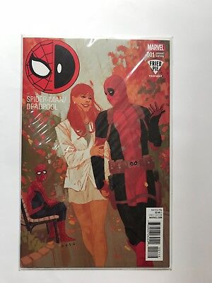 MARVEL Spider-Man Deadpool #1 FRIED PIE Variant NM