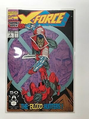 Marvel X-Force #2 2Nd Appearance Deadpool Marvel Nm