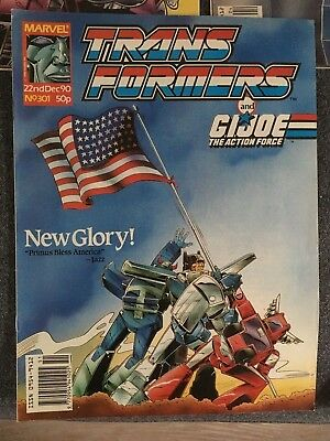 Transformers Comic Marvel UK 301