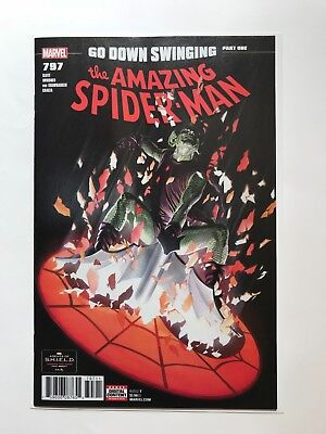MARVEL THE AMAZING SPIDER-MAN #797 Alex Ross NM