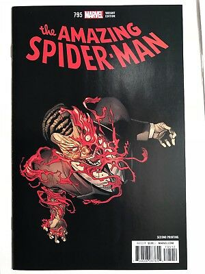 Marvel Amazing Spiderman 795  Nm Variant