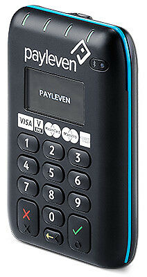 Payleven Chip & PIN Plus Black smart card reader - 5060350030213