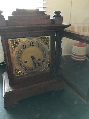 Antique clock, with key