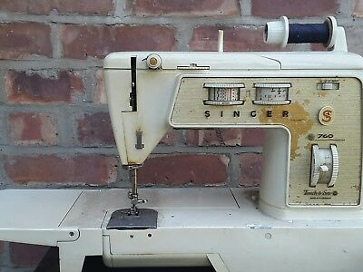 singer 760 sewing  machine touch and sew for price of a foot pedal
