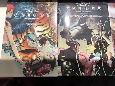 Fables The Deluxe Edition Volumes 1 - 5