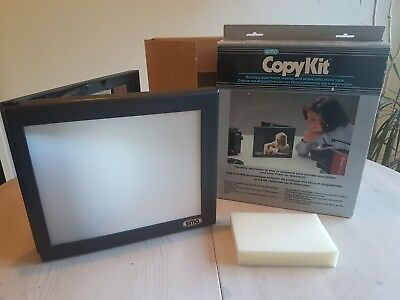 Unused boxed vintage Soma Copykit, transfer movies and slides to video tape