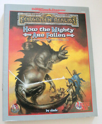 "Advanced Dungeons and Dragons - Forgotten Realms ""How the Mighty are Fallen"""