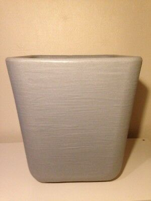 NOT IKEA SKURAR LARGE Hanging plant pot steel white floral  ***NEW*** 4756312