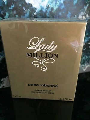 Lady Million von Paco Rabanne     3x20 ml