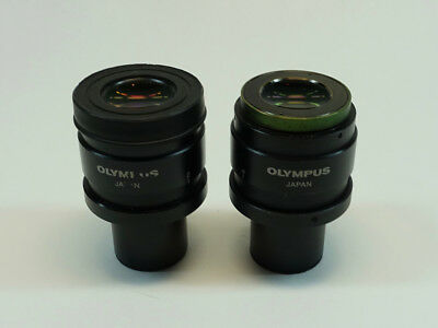 Pair of Olympus SWH10X-H/26.5 Microscope Eyepieces; excellent condition