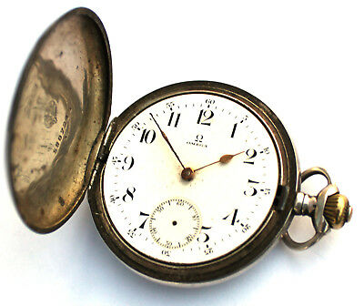 Omega Solid .900 Silver Pocket Watch