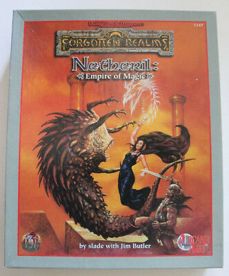 Advanced Dungeons and Dragons - Netheril Empire of Magic !!!unvollständig!!!