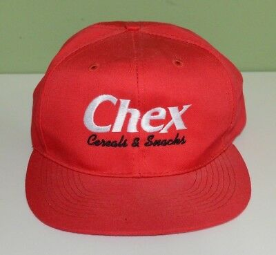 Chex Cereals And Snacks Hat Cap Snapback