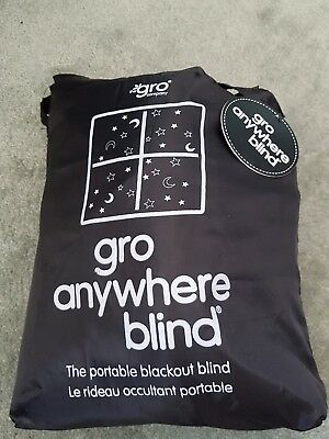 The Gro Company Gro Anywhere Blackout Blind Travel Baby Curtains Summer Portable