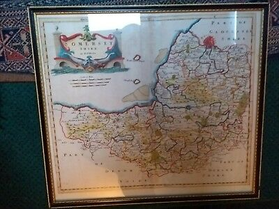 Genuine Rob Morden Somerset Map