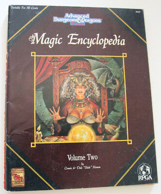 "Advanced Dungeons and Dragons - ""Magic Encyclopedia"""