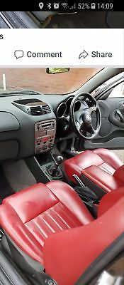 Alfa Romeo 147  t spark lusso ..red leather