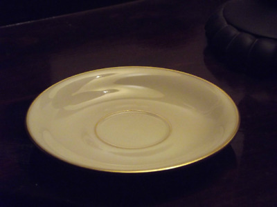 Lenox China USA Presidential Collection Gold Mansfield Saucer