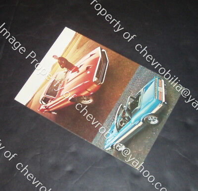 """1969 Ford SHELBY Mustang GT350 & GT500 NOS Mint 5.5 x 8"""" POSTCARD GT 350 500"""