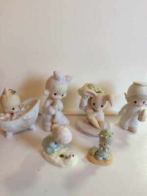 Vintage Precious Moments - Retired Lot of 6 Items