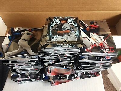 Lot Of (30) Random 2018 Topps Finest Baseball Base/insert Cards