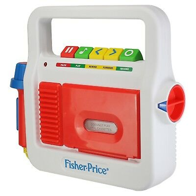 Fisher-Price Play Tape Recorder, NEW ( No Box )-- Freaky Fast Shipping!!!