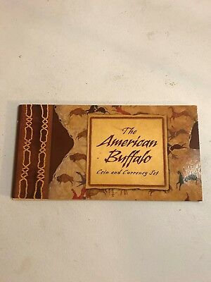 2001 American Buffalo Coin And Currency Set Opened