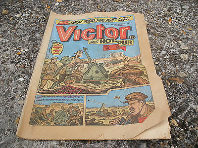 Victor and Hotspur Comic 18 April 1981 Issue Number 1052