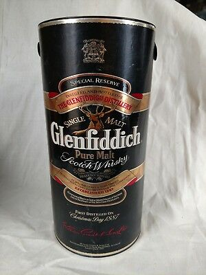 Empty Glenfiddich Outer Box For Special Reserve Single Malt Scotch Whisky