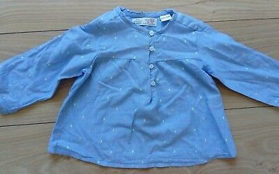 Baby Girl Zara Top Tunic 12-18 Months perfect for summer!