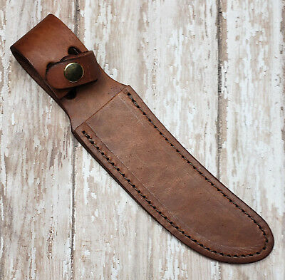 """LEATHER SHEATH FOR UP TO 5"""" STRAIGHT FIXED BLADE KNIFE, 2nd QUALITY, SH1206"""