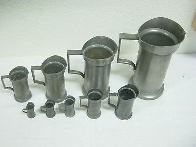 royal holland daalderop progressive size set of 9 pitchers