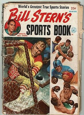 1952 Sports Collectible Bill Stern's Sports Book