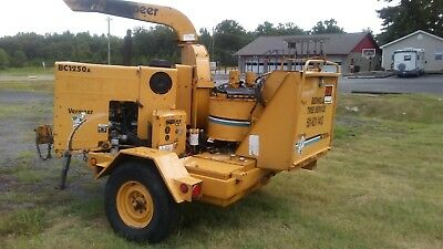 Vermeer BC 1250A wood chipper Perkins diesel 1998 model