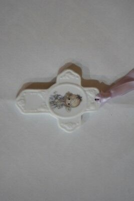 VINTAGE 1994 ENESCO PRECIOUS MOMENTS I Believe in the Old Rugged Cross Book Mark