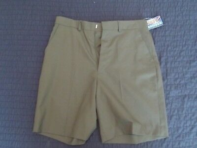 BSA Official Boy Scout Uniform Shorts Green, 32 New with Tags
