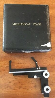Vintage Mechanical Stage For Microscope