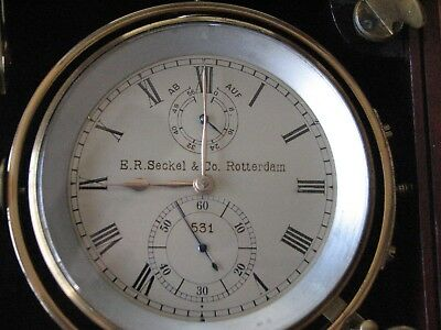 A Johannsen & Co . London 2889  Chronometer