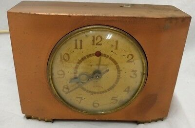 Vintage General Electric Alarm Clock Model 7H166 Made in USA  RUNS