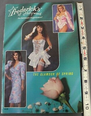Frederick's of Hollywood Vintage catalog 1989 Volume. No.62 Issue No. 340