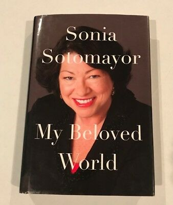 OFFERS! Supreme Court Justice Sonia Sotomayor Signed, Autographed Book, Beauty!!
