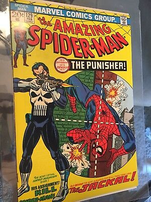 The Amazing Spider-Man #129 (Feb 1974, Marvel) Higher Grade
