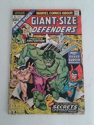 Giant Size Defenders #1 (Vg) 2 (Nm-) 3 (Vf) 4 (Fn+) 5 (Vf) & Annual #1 (Nm-)